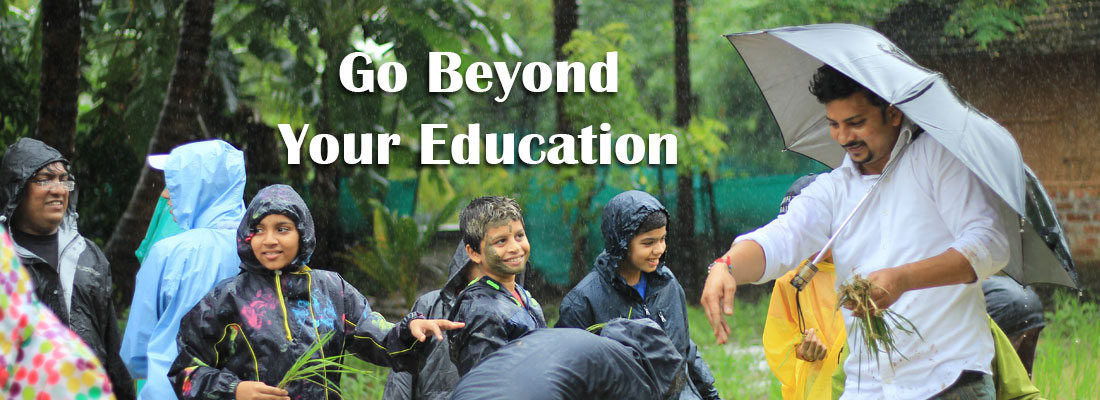Go Beyond your Education